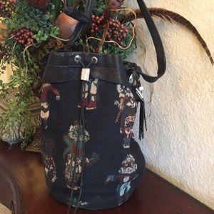 Kachina Doll bucket bag